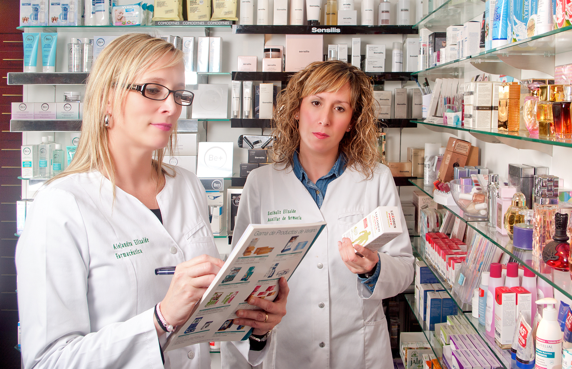 Equipo Farmacia Sandra Elizalde Miranda de Arga Navarra